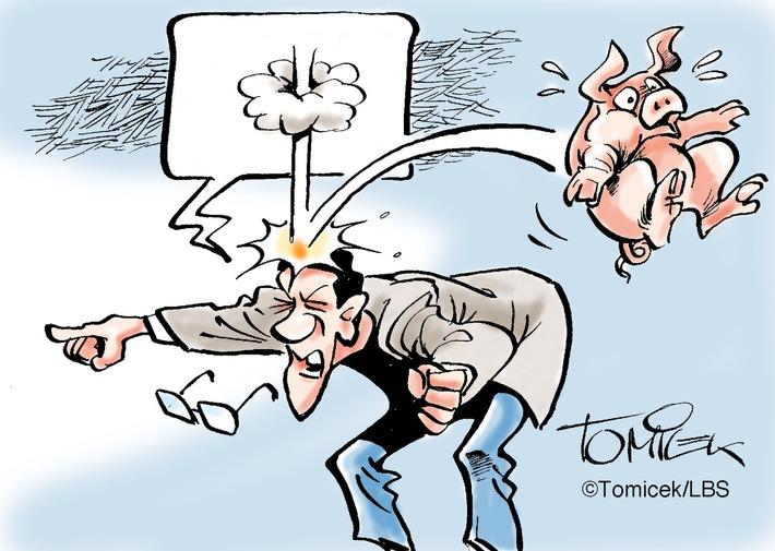 """Derbe Beleidigung / Mieter bezeichnete Vermieter als """"Schwein"""" und musste gehen"""