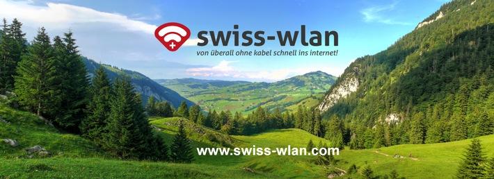 Premiere: Entlegene Schweizer Bergregionen gehen online / Dank Antennen auf Bergspitzen neu auch ohne Glasfasernetz kabellos Internet, TV und Festnetztelefonie