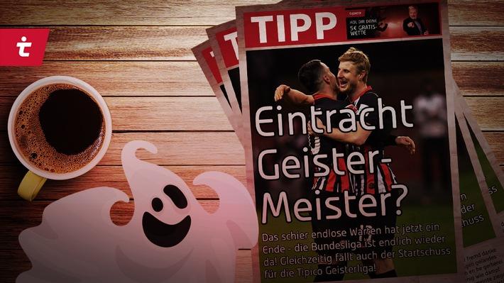 """Alle starten bei Null: In der Tipico Geisterliga ist alles möglich! Weiterer Text über ots und www.presseportal.de/nr/61815 / Die Verwendung dieses Bildes ist für redaktionelle Zwecke honorarfrei. Veröffentlichung bitte unter Quellenangabe: """"obs/Tipico"""""""