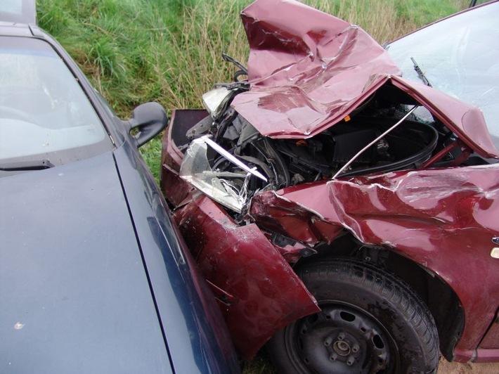 POL-HI: Verkehrsunfall mit leicht verletzter Beteiligten