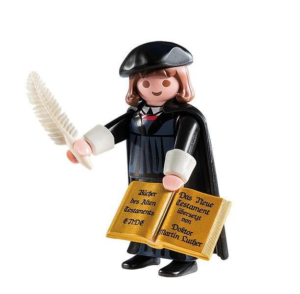 Reformations-Botschafter im Miniaturformat - Martin Luther als Spielfigur