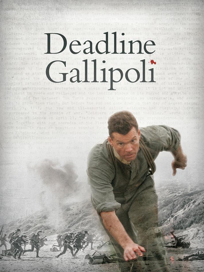 """Australische Miniserie """"Deadline Gallipoli"""" im Dezember exklusiv auf Sky"""