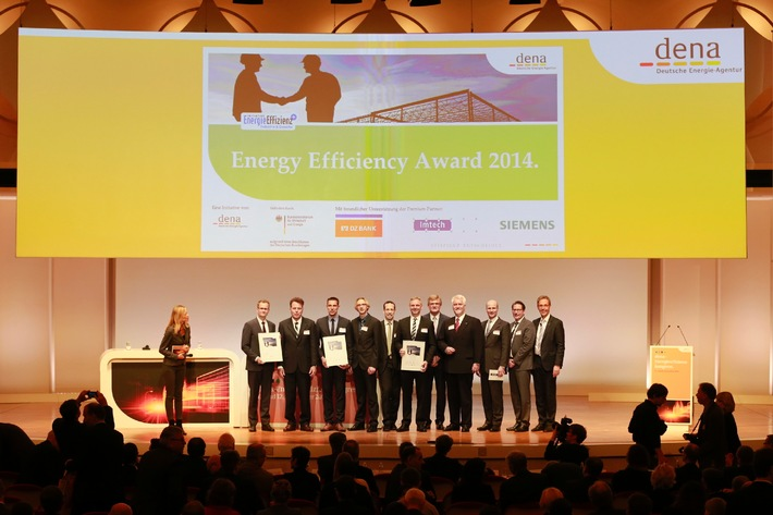 dena Hands Out Energy Efficiency Awards 2014 / Recognition for outstanding energy efficiency projects in industry