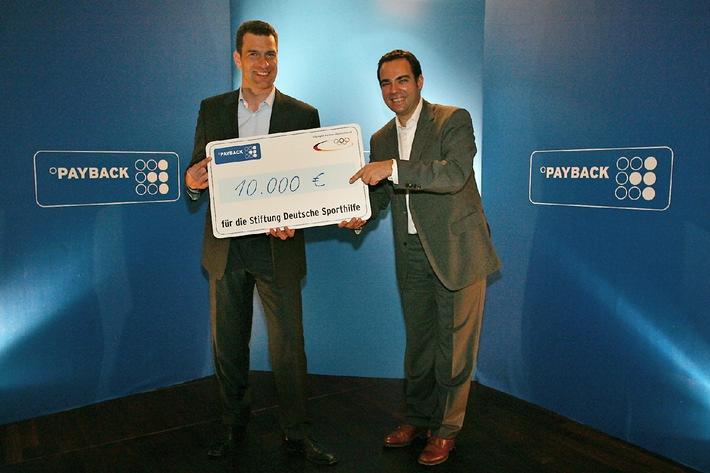 Leichtathletik WM 2009: Sporthilfe punktet mit Payback Spendenscheck (mit Bild)