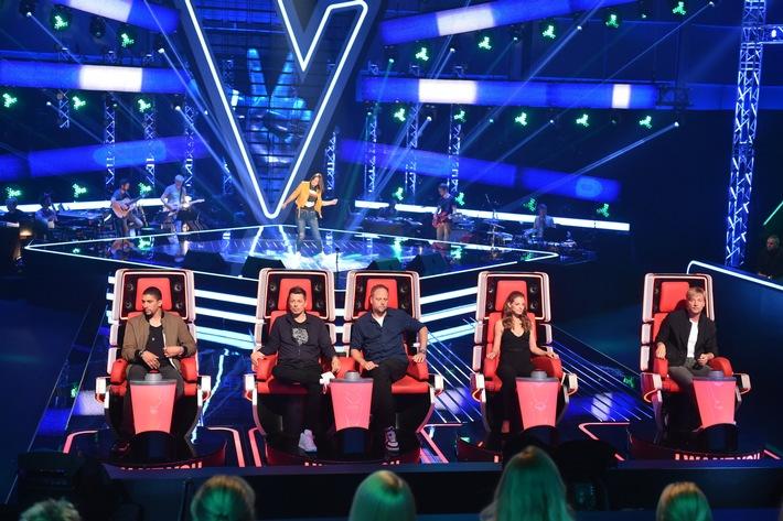 """It's nothing but """"The Voice"""": """"The Voice of Germany"""" startet am Donnerstag, 20. Oktober, auf ProSieben und Sonntag, 23. Oktober, in SAT.1"""