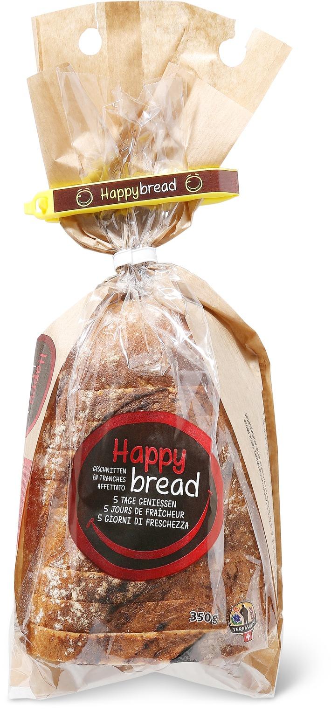 """Migros: """"Happy bread"""", das erste langhaltbare Frischbrot ohne Konservierungsstoffe"""