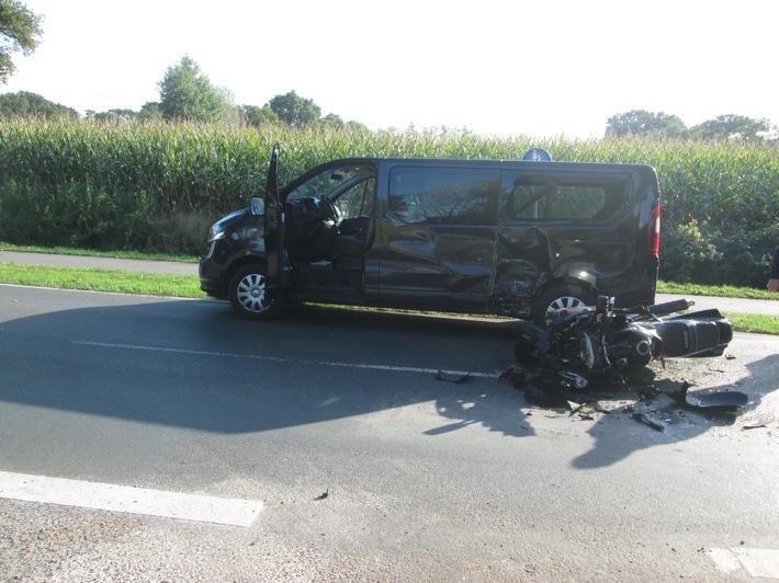 POL-OL: +++schwerer Motorradunfall in Vreschen-Bokel+++