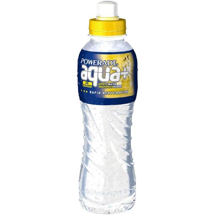 La boisson sportive pour tous ceux qui comptent les calories: Powerade Aqua+
