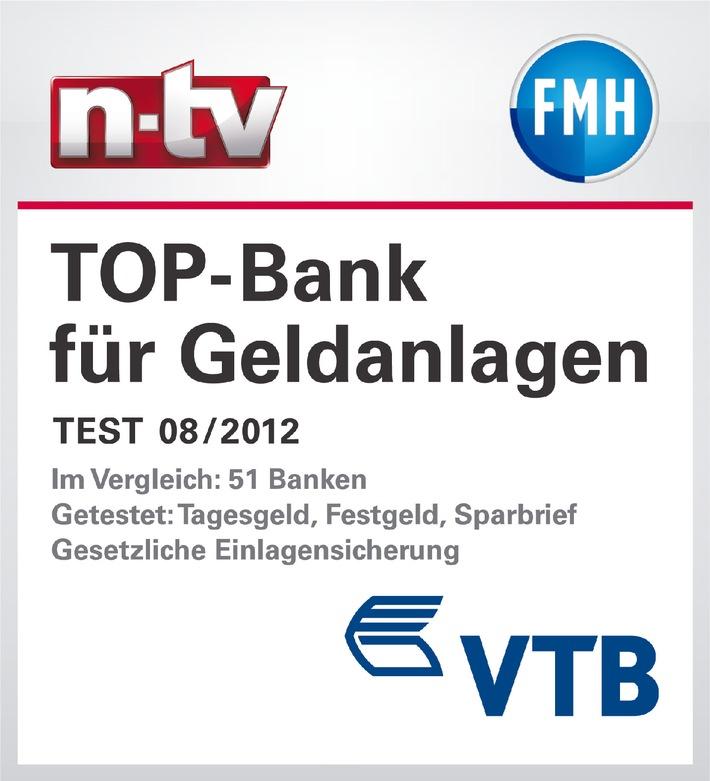 Vtb Direktbank Als Top Bank Für Geldanlagen Ausgezeichnet