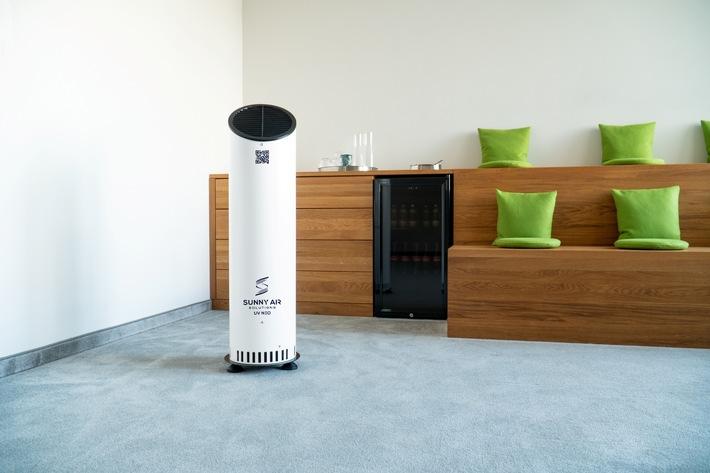 Kostenfreies Info-Webinar rund um Luftentkeimung und Luftreinigung: / Wissenswertes zu UV-C- und HEPA-Technik (FOTO)