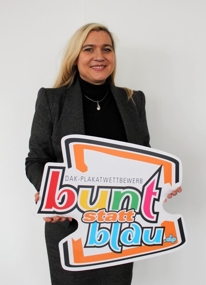 "Melanie Huml startet ""bunt statt blau"" 2018 / Foto: DAK-Gesundheit/Stefan Wandel"
