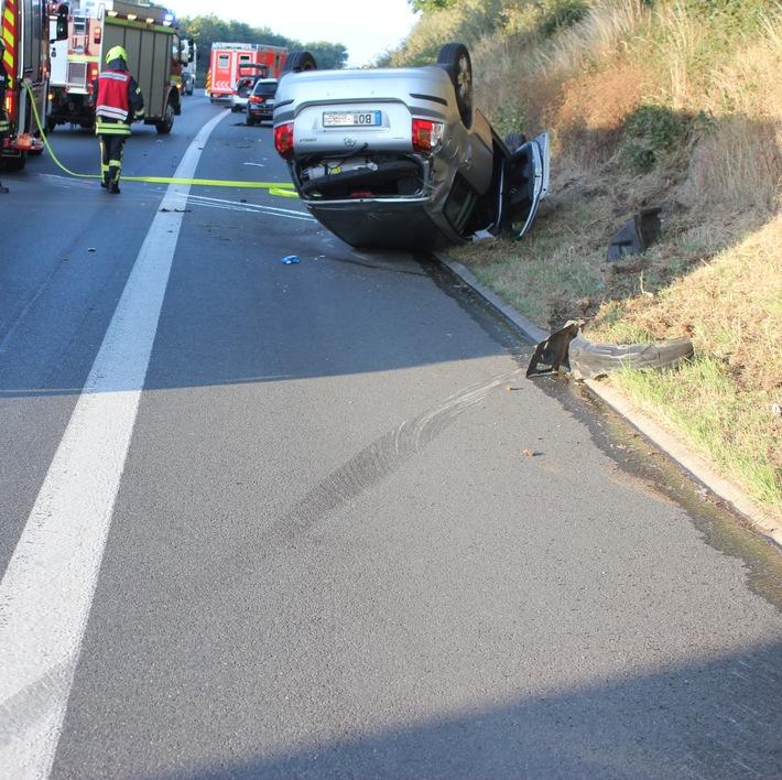 Unfallfoto A2, Bild 1