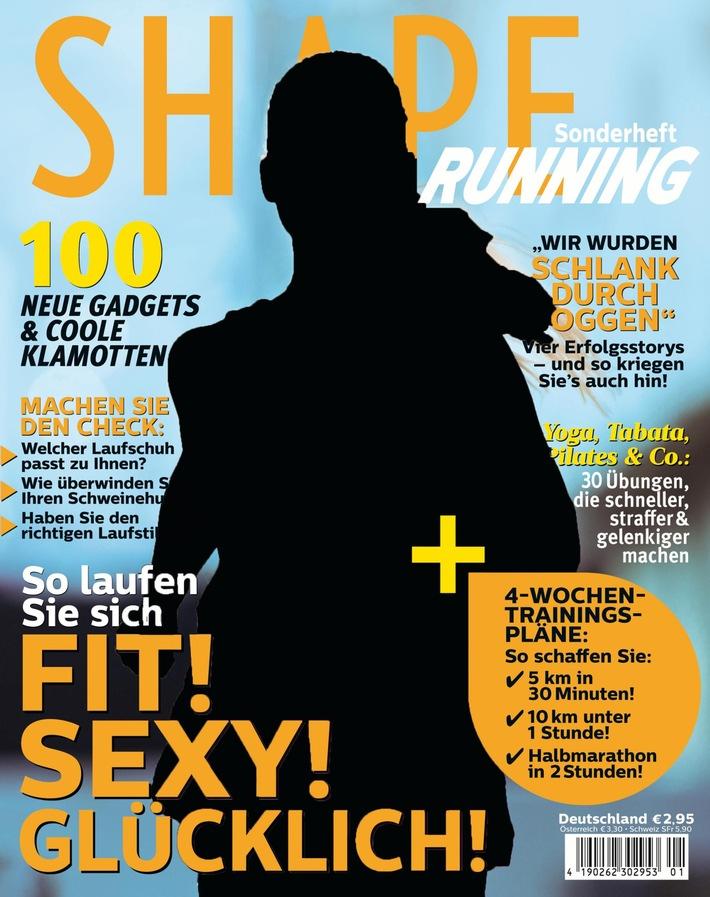 """Titelheldin gesucht: Wer wird das neue Covermodel der """"SHAPE Running""""? Gemeinsame Aktion von GARMIN und SHAPE beim """"Deutsche Post Ladies Run 2016"""""""