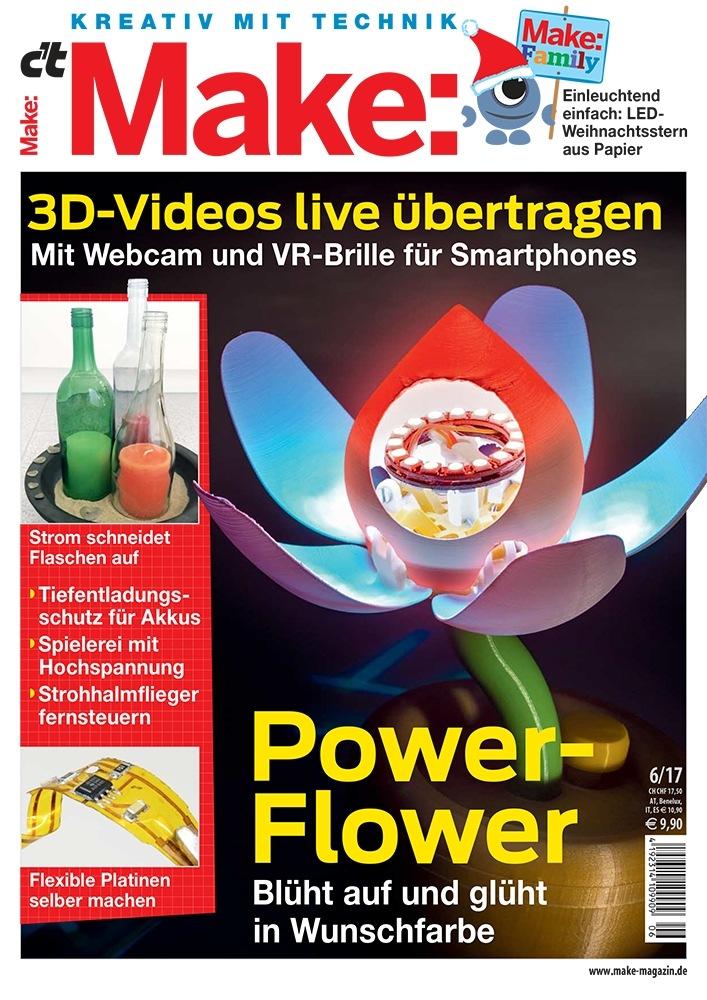 Altglas-Upcycling / Strom schneidet Flaschen | Pressemitteilung Make