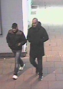 Wer kennt diese beiden Männer? Hinweise an das KK 35 unter 0228/15-0.