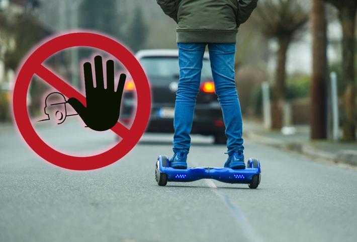 Hoverboard: Spaß in engen Grenzen - Die Spaßmobile haben keine Straßenzulassung