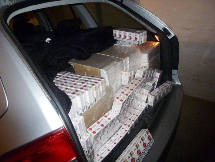 ZOLL-DD: Gemeinsame Pressemitteilung der Staatsanwaltschaft Halle und des Zollfahndungsamtes Dresden: Schlag gegen Zigarettenhehler: Zollfahnder stellen Lieferung mit rund 160.000 Zigaretten sicher