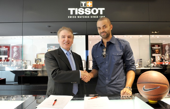 Tissot signs basketball player Tony Parker as a Global Ambassador