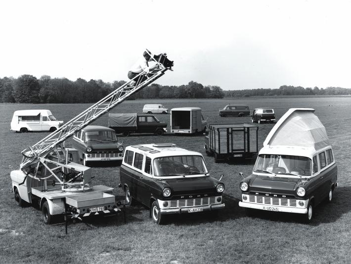 Ford Transit - seit 50 Jahre im Dienst zum Wohle der Kunden