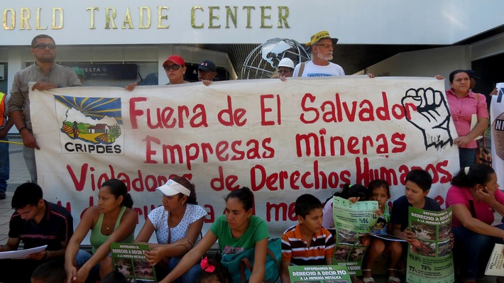 (Aktualisierung: Sieg vor dem Freihandels-Schiedsgericht / Gerichtshof der Weltbank lehnt Konzernklage gegen El Salvador ab / 15.10.2016, 11:35 Uhr)