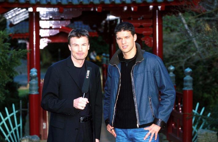 "Michael Ballack in ""ran - WM-Fieber 2002"": ""Bayern ist das Non Plus Ultra in Europa"" / Stefan Effenberg zu Gast in ""ran"" am Sonntag"
