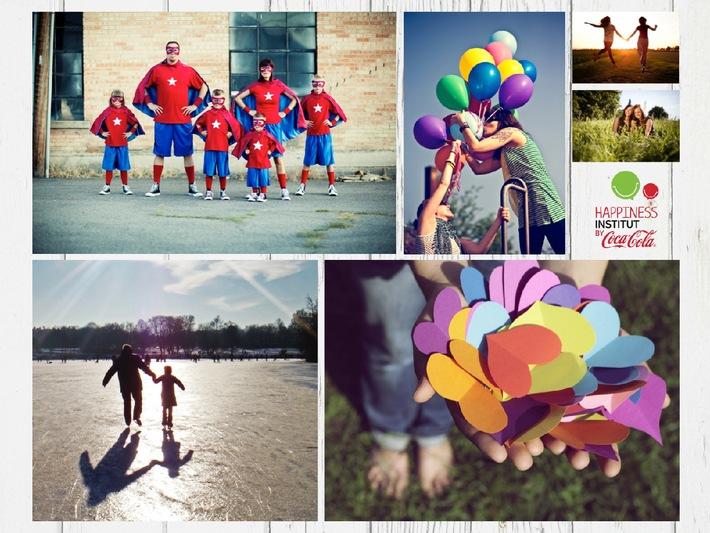Coca-Cola Happiness-Studie zeigt: Familien auf der Mission Lebensfreude