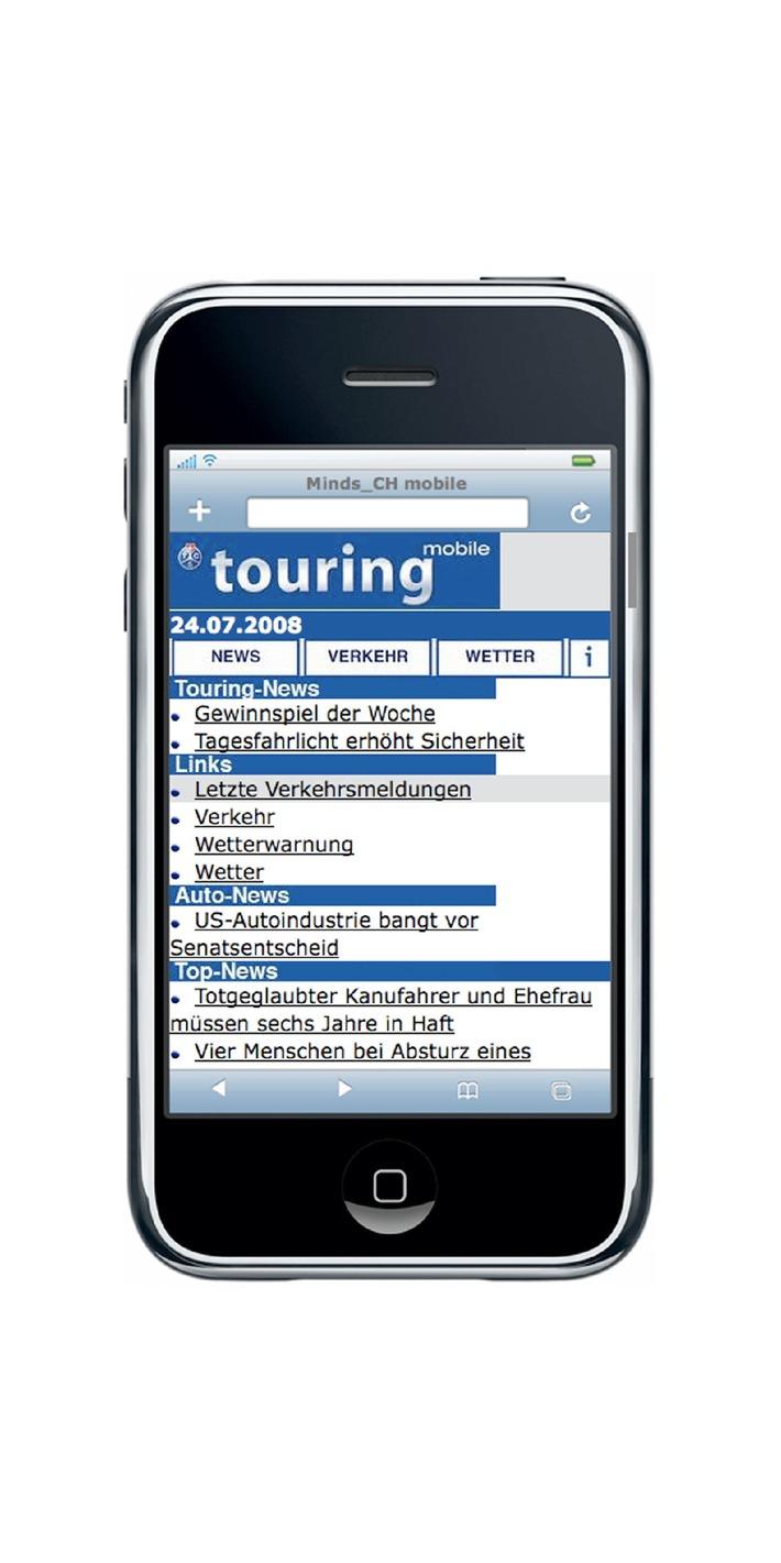 """Il Touring lancia """"touring mobile"""""""