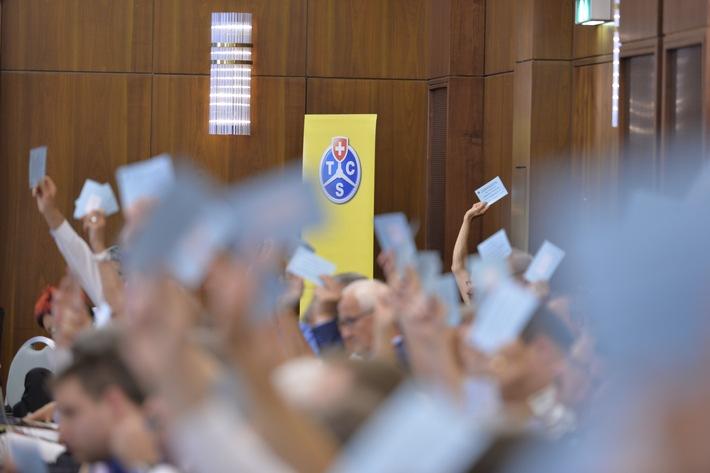 Ordentliche Delegiertenversammlung des TCS in Basel: Klare Forderungen zum NAF und Bekenntnis zum Gotthardsanierungstunnel