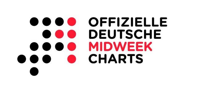 Offizielle Deutsche Midweek-Charts gehen an den Start