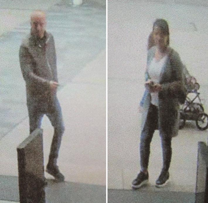 POL-BO: Etliche Jacken im Ruhrpark gestohlen: Wer kennt dieses Paar?