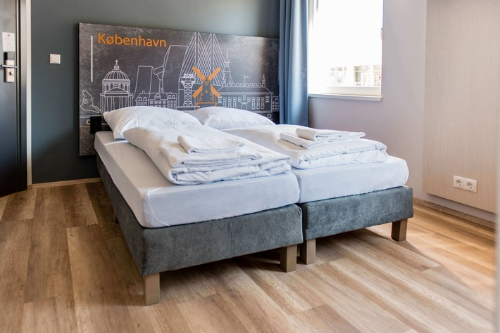 BILD zu OTS - Bett im a&o Hostel Kopenhagen Norrebro