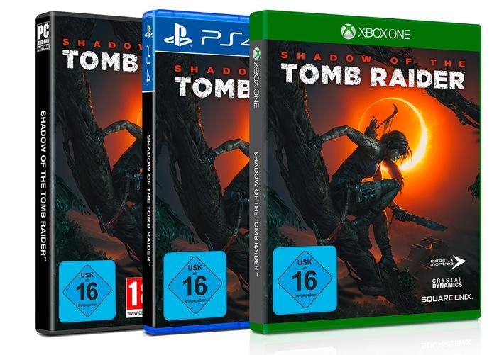 """SHADOW OF THE TOMB RAIDER ist ab sofort erhältlich / Lara Croft is back: Square Enix veröffentlicht neuestes Videospiel der bekannten Actionheldin / SHADOW OF THE TOMB RAIDER ist ab sofort für Xbox One, PS4 und PC erhältlich. Weiterer Text über ots und www.presseportal.de/nr/104016 / Die Verwendung dieses Bildes ist für redaktionelle Zwecke honorarfrei. Veröffentlichung bitte unter Quellenangabe: """"obs/Square Enix GmbH"""""""