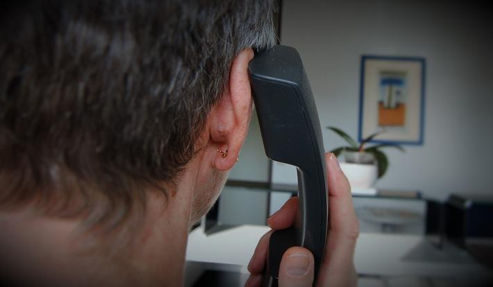 Achtung: Betrüger am Telefon!
