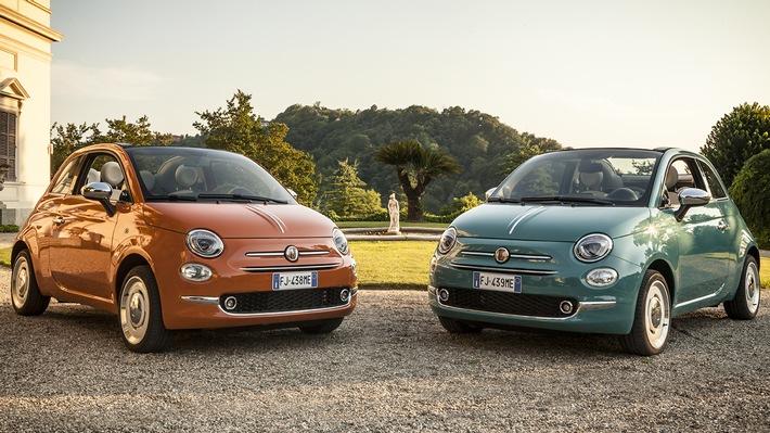 Der neue Fiat 500 Anniversario: Automobile Ikone feiert 60. Geburtstag mit exklusivem Sondermodell