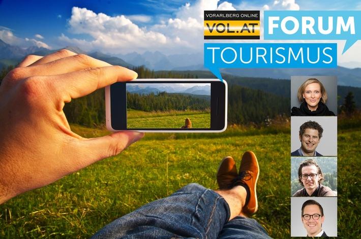 """Der Tourismus ist im Web angekommen - Sie auch? VOL.AT FORUM """"Tourismus: Digitalisierung & Innovation""""! - BILD"""
