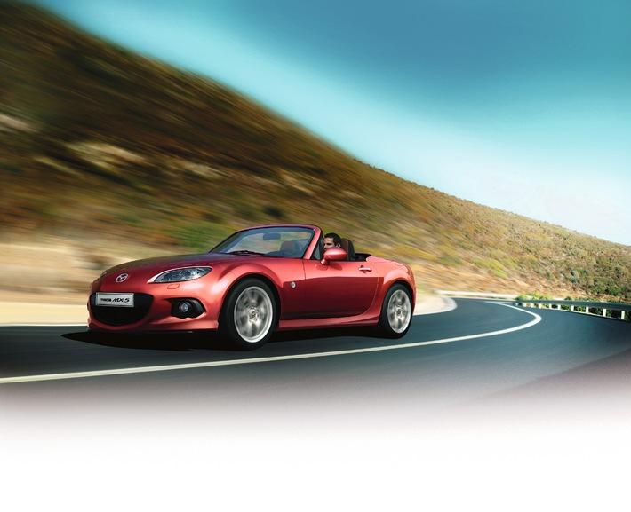 In den drei Sonderserien von Mazda wird der Geist von Japan lebendig (BILD)