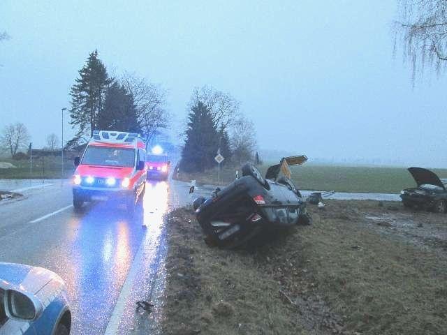 Altenmedingen: Unfall an der Kreuzung L232
