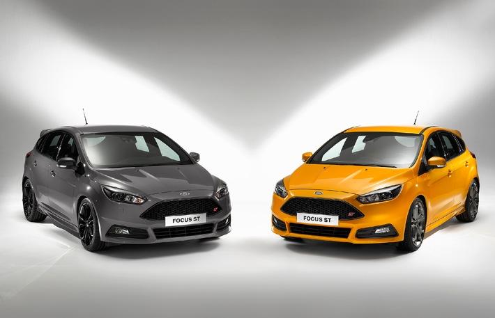 Weltpremiere des neuen Ford Focus ST beim Goodwood Festival of Speed - jetzt auch als Version mit Dieselmotor