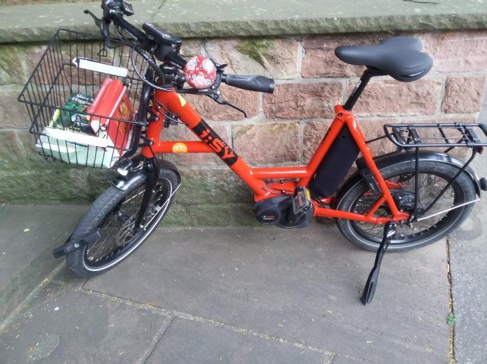 entwendetes Fahrrad