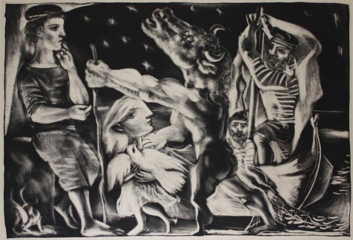 Neue Internet-Auktion bei artnet: Radierung von Pablo Picasso aus der Vollard Suite