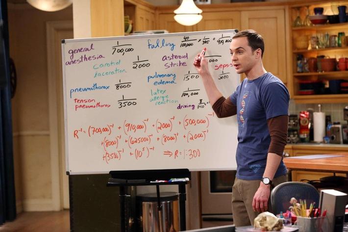 """Mit dem Urknall ins Sitcom-Universum: Die Nerds von """"The Big Bang Theory"""" gehen am 5. Januar in die achte Staffel auf ProSieben"""