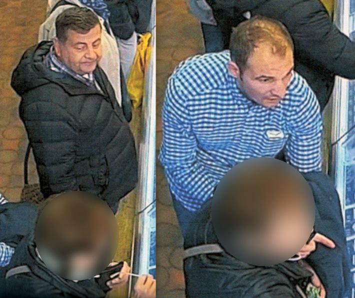 POL-BO: In der Metzgerei abgelenkt: Handtasche auf und Bargeld weg - Wer kennt die Kriminellen?