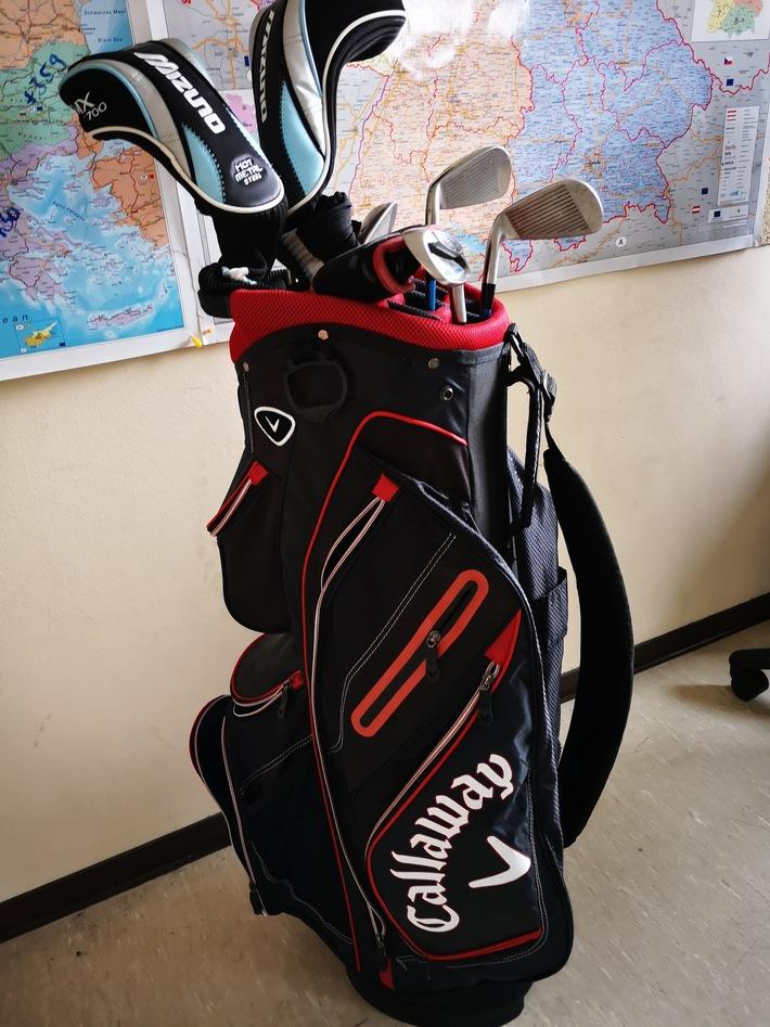 Wem gehört der Golf-Trolley?