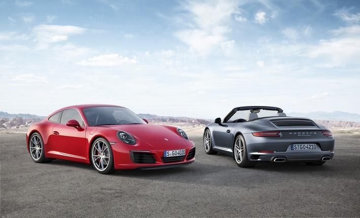 Mehr Fahrspass, Performance und Effizienz: Der neue Porsche 911 Carrera