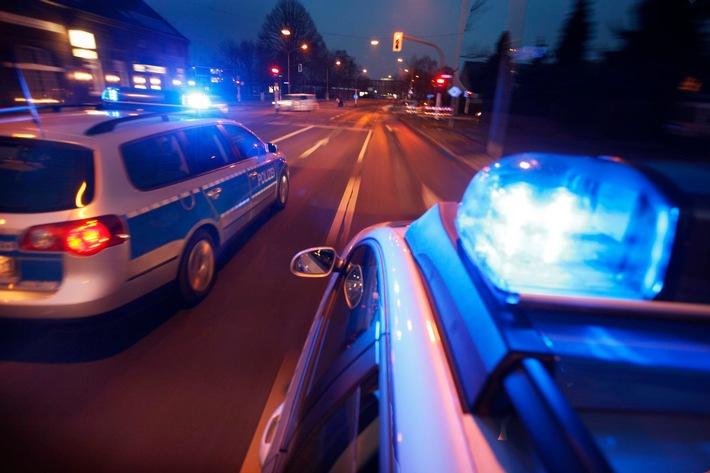 Symbolbild: Nächtlicher Einsatz für die Polizei.