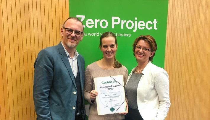 """APA-Top Easy"" mit internationalem ""Zero-Project""-Award ausgezeichnet - BILD"