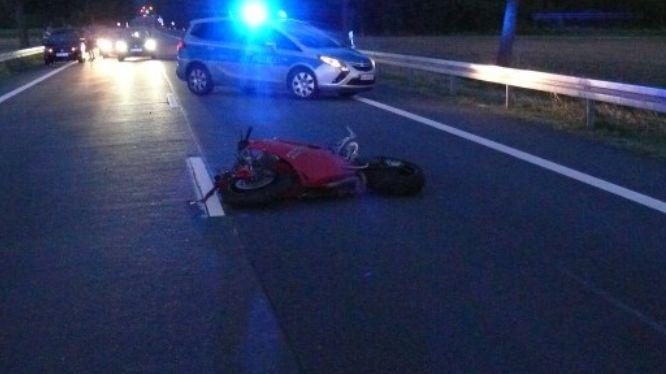 PPSH-HP: Schwerverletzter Motorradfahrer nach Unfall auf der B 460 zwischen Heppenheim und Lorsch