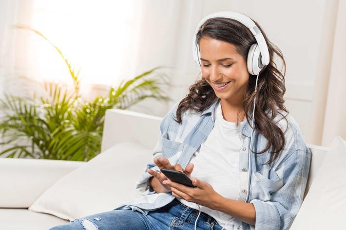 Musikhören via Smartphone ist bei den Jungen hoch im Kurs