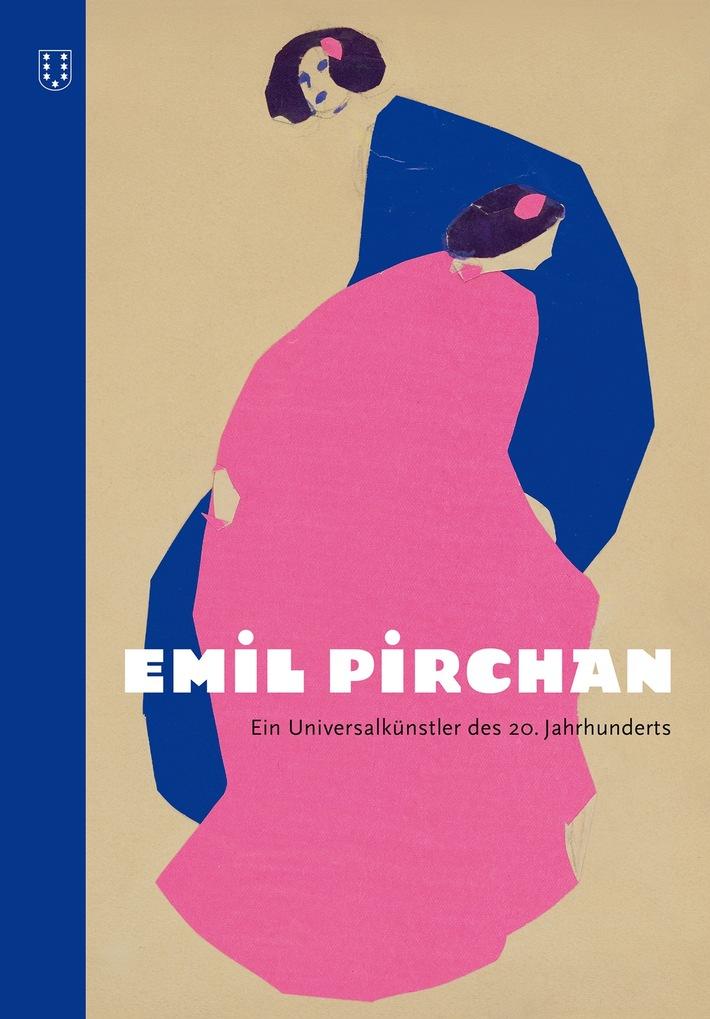 """BILD zu OTS - Umschlag Publikation """"Emil Pirchan"""""""