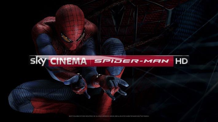 """""""Sky Cinema Spider-Man HD"""": Zum Start von """"Venom"""" zeigt Sky sechs Filme aus dem Spider-Man-Universum (FOTO)"""